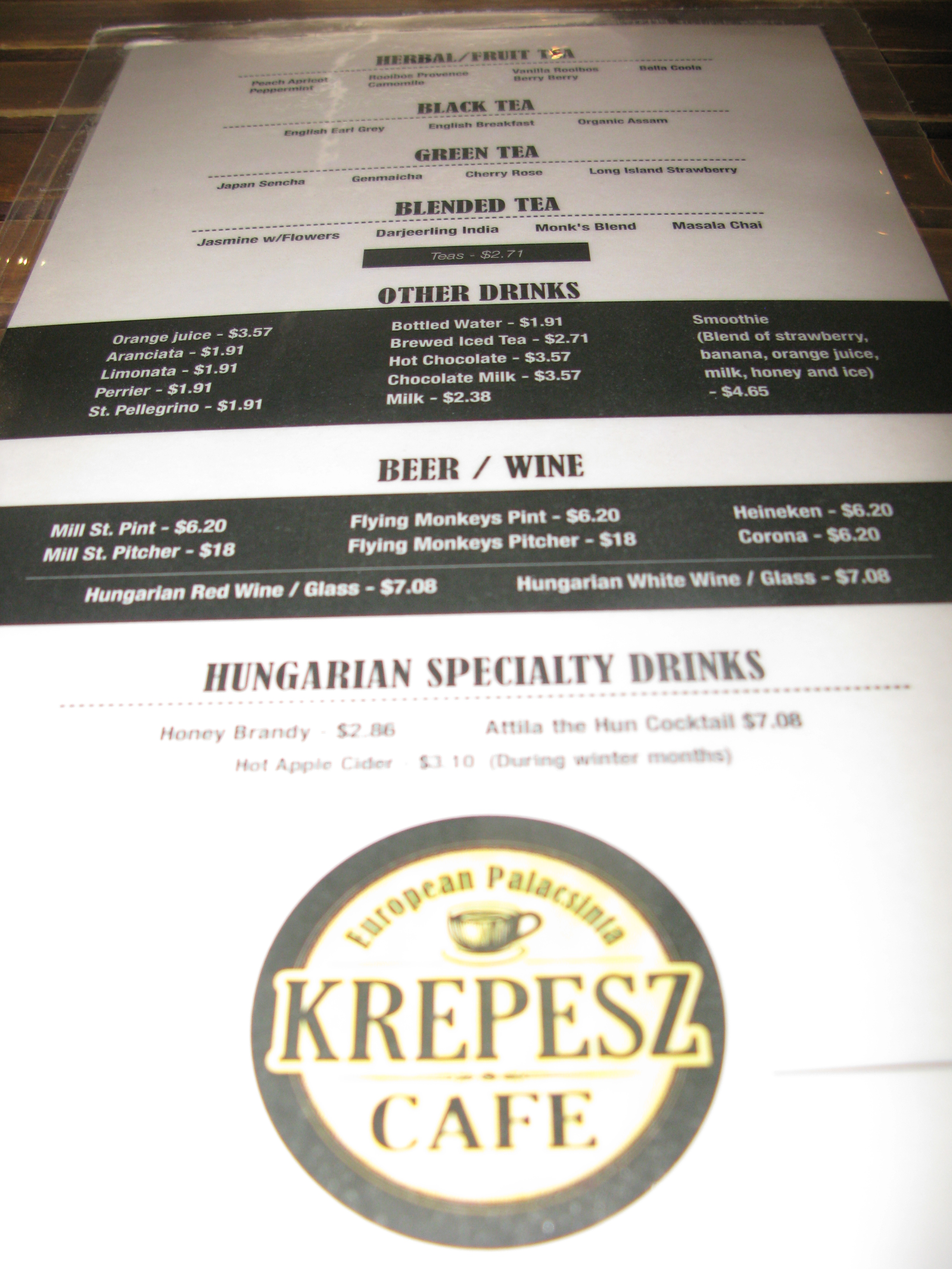 Krepez Cafe toronto