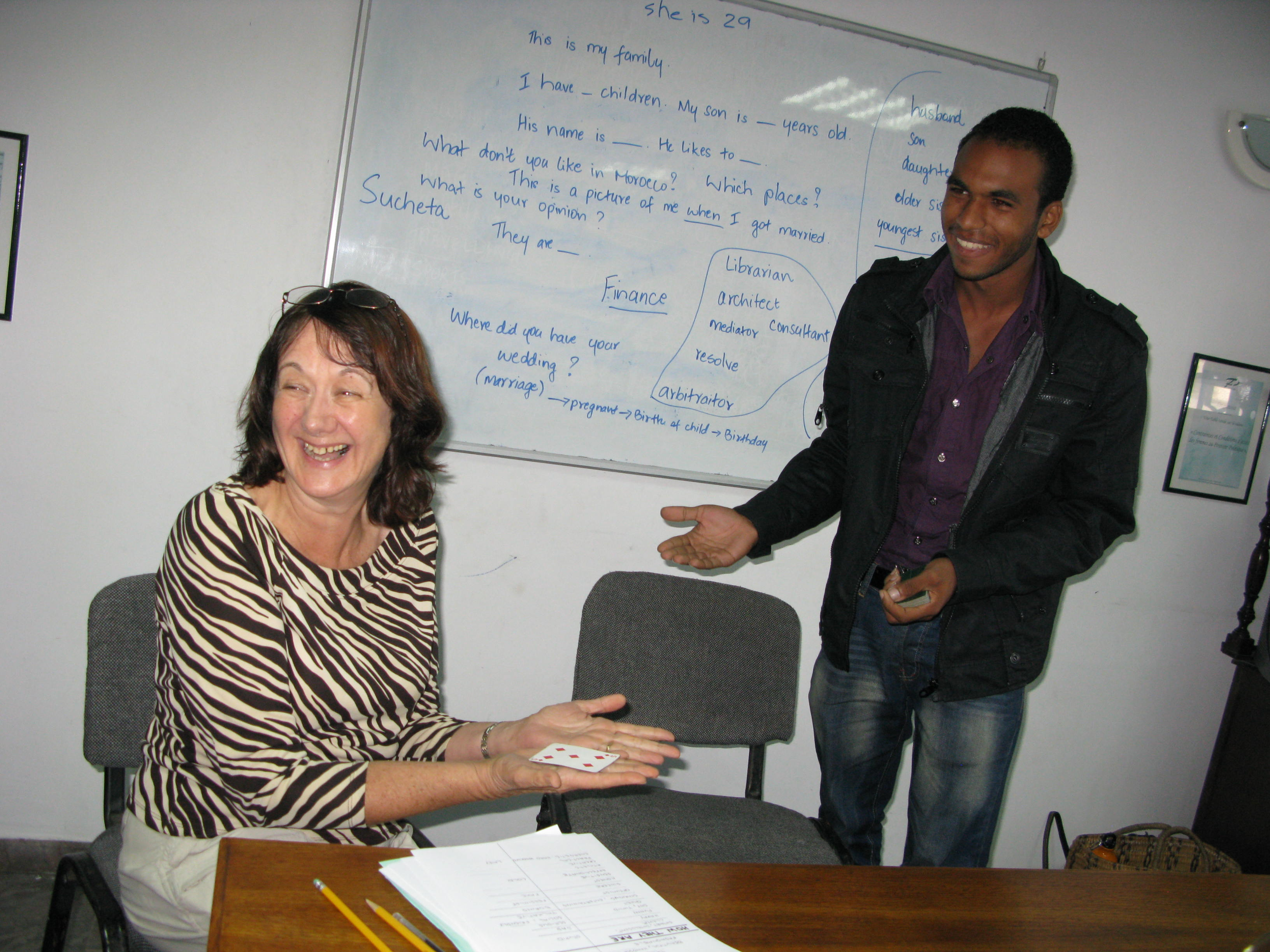 volunteer Teaching English in Morocco