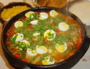 Kacua fish stew