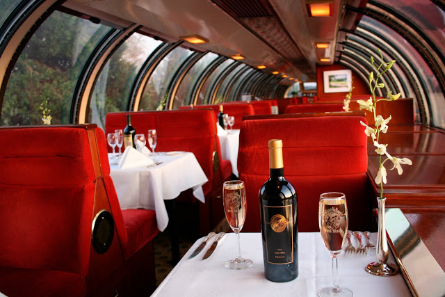 Photo courtesy of Napa Valley Wine Train