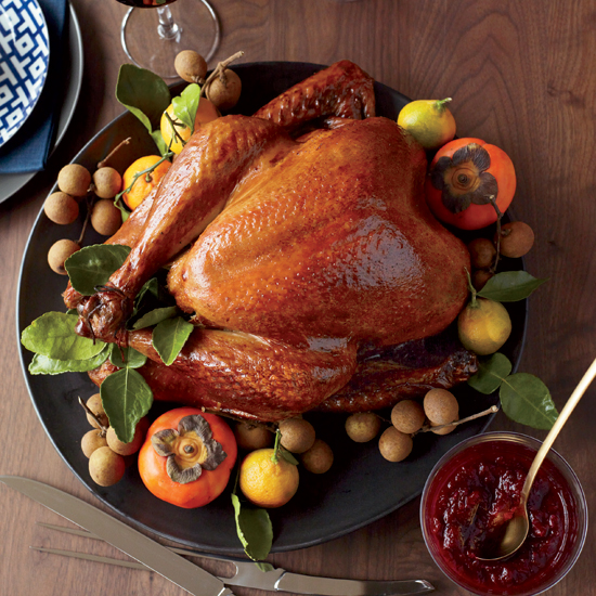 Asian Thanksgiving Turkey. Photo courtesy Food and Wine.