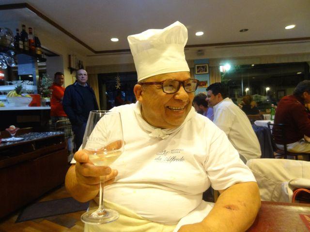 chef ristorante da alfredo