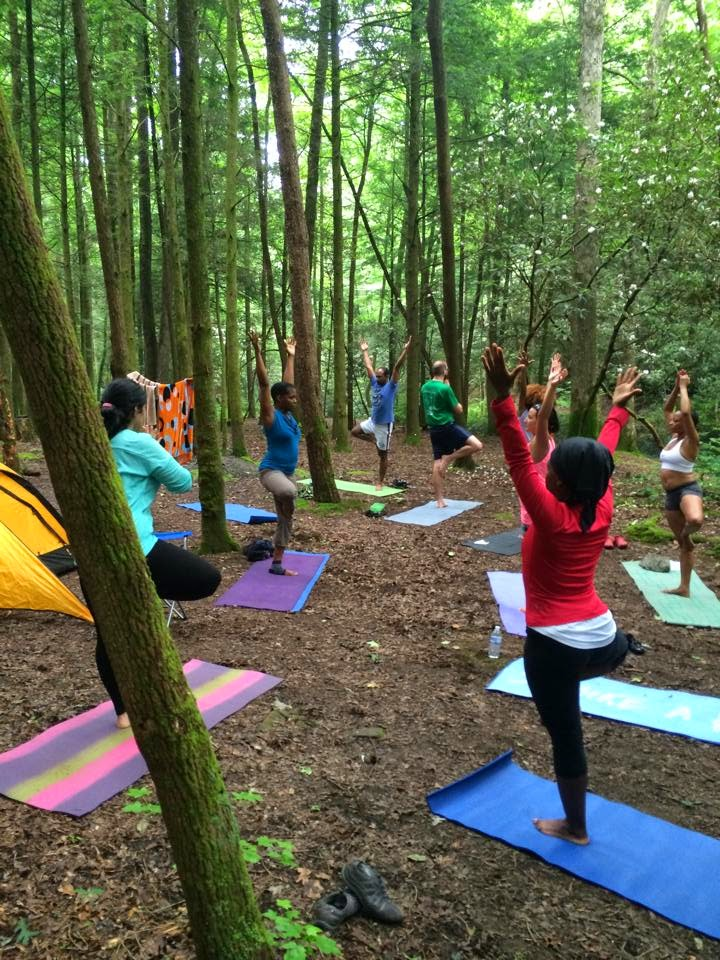 yoga camp north Georgia