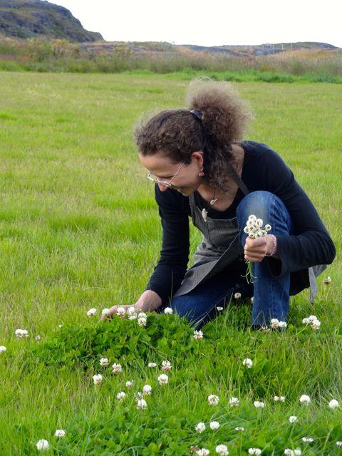 agathe on her farm