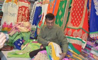 indian sari shop