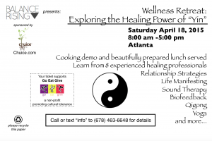 Balance Rising Wellness Retreat @ Chuice  | Atlanta | Georgia | United States