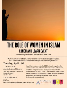 Women in Islam @ The Atlantic Institute  | Atlanta | Georgia | United States