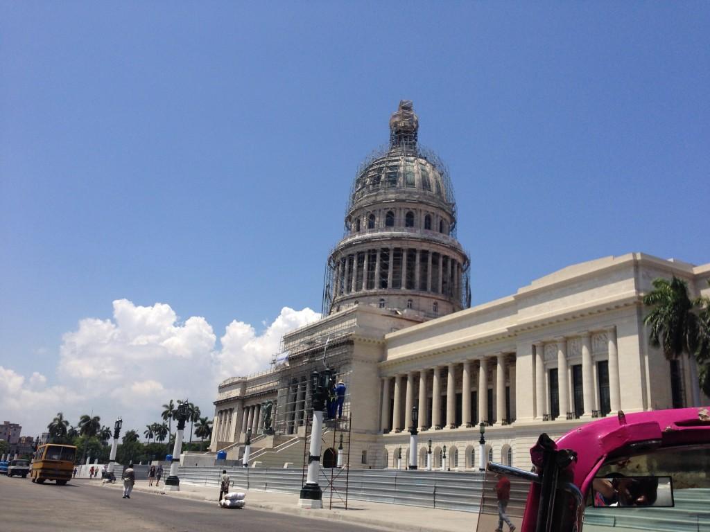 The National Capitol Building in Havana