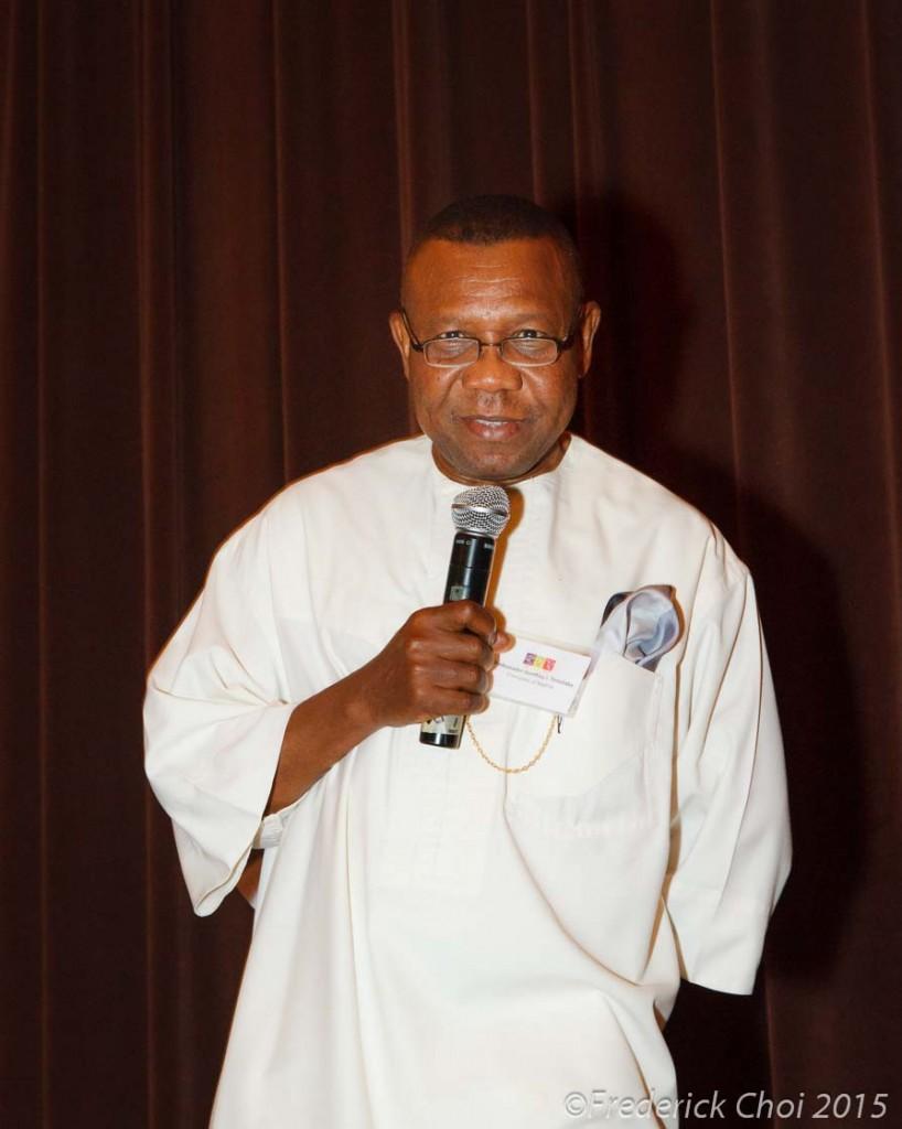 ambassador of nigeria Geoffrey I. Teneilabe