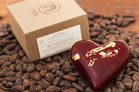 nuubia choclate heart valentines day